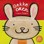 Gekke oren (kartonboek met halve pagina's)
