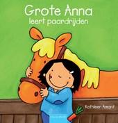 Grote Anna leert paardrijen