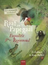 Raaf en Papegaai   Li Lefébure  