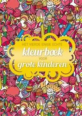 Het vierde enige echte kleurboek voor grote kinderen