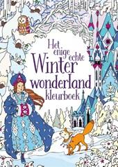 Het enige echte winter wonderland kleurboek