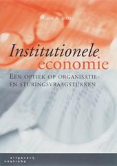 Institutionele economie