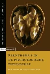 Wetenschapsfilosofie in context Kernthema's in de psychologische wetenschap