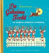 De geheime tocht e.a. winterse verhalen, luxe gouden boek, Richard Scarry, Kerstverhalen