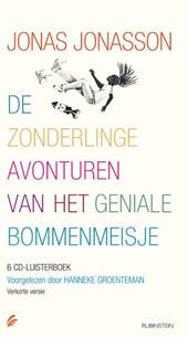 De zonderlinge avonturen van het geniale bommenmeisje, 6 cd's, voorgelezen door Hanneke Groenteman, verkorte versie