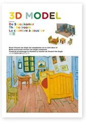De Slaapkamer van Van Gogh, bouwplaat