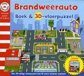 Brandweerauto boek en 3D-vloerpuzzel