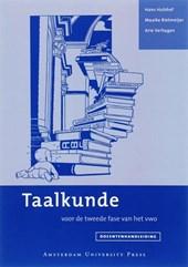Taalkunde / Docentenhandleiding