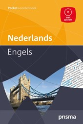 Prisma pocketwoordenboek Nederlands-Engels + CD-ROM