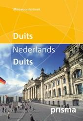 Prisma miniwoordenboek Duits-Nederlands Nederlands- Duits