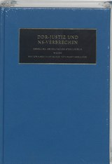 Nazi Crimes on Trial DDR-Justiz und NS-Verbrechen |  |