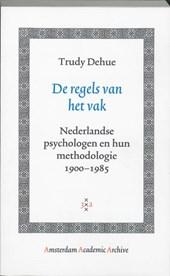 Amsterdam Academic Archive De regels van het vak