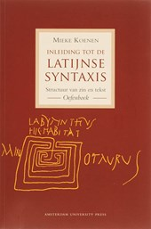 Inleiding tot de Latijnse syntaxis Oefenboek