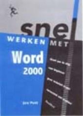 Snel werken met Word