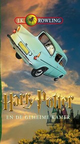 Harry Potter en de geheime kamer, luisterboek, 8 Cd's | J.K. Rowling |