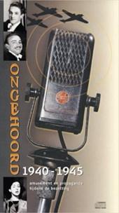 Ongehoord 1940-1945 Amusement tijdens de bezetting 4 CD's