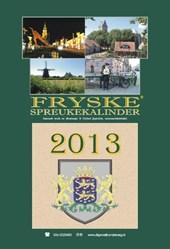 Fryske spreukekalinder 2013