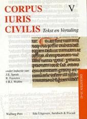Corpus Iuris Civilis V Digesten 35-42
