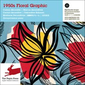 1950s Floral graphic