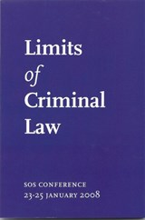 Limits of Criminal Law | auteur onbekend |