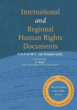 International and regional human rights documents | auteur onbekend |