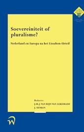 Soevereiniteit of pluralisme?