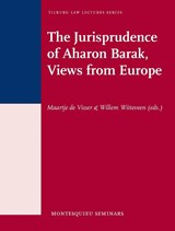 The jurisprudence of Aharon Barak | Willem Witteveen ; Maartje de Visser |