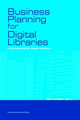 Business planning for digital libraries | Ian Anderson ; Lluis Anglada ; Angel Borrego ; Genevieve Clavel-Merrin |