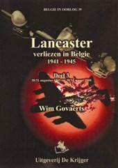 Belgie in oorlog Lancaster 3 30-31 augustus 1943 tot  30-31 maart
