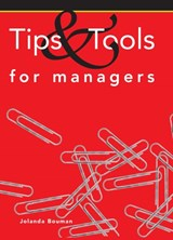Tips and tools for managers | Jolanda Bouman |