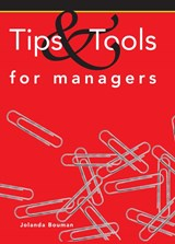 Tips & tools for managers | Jolanda Bouman ; TextCase |