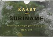 Kaart van Suriname Facsimile