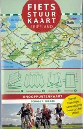 Fietsstuurkaart Regio Friesland