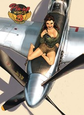 Pin-up wings | Romain Hugault |