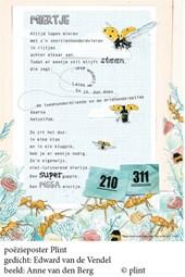 Poeziekaart Plint E. van de Vendel Miertje 7373  Navulset (10 stuks)