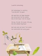 Plint A4 poëzieposter 'laatste schooldag' set van