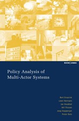 Policy Analysis of Multi-Actor Systems | Bert Enserink |