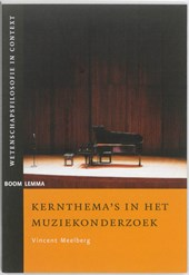 Wetenschapsfilosofie in context Kernthema's in het muziekonderzoek