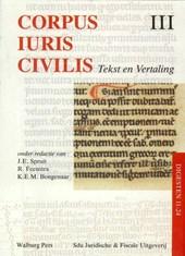 Corpus Iuris Civilis III Digesten 11-24