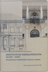 Institutum Neerlandicum MCMIV-MMIV