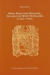 Hoge Raad van Holland, Zeeland en West-Friesland (1582-1795)