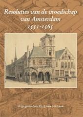 Resoluties van de vroedschap van Amsterdam 1551-1565
