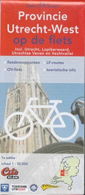 Fietskaart Provincie Utrecht-West op de fiets