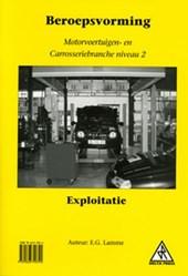 Beroepsvorming motorvoertuigen- en carrosseriebranche Niveau 2 exploitatie
