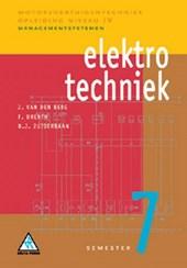 Motorvoertuigentechniek Elektrotechniek 7 Managementsystemen