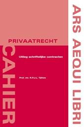 Ars Aequi Cahiers - Privaatrecht Uitleg van schriftelijke contracten