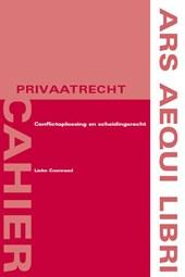 Ars Aequi Cahiers - Privaatrecht Conflictoplossing en scheidingsrecht