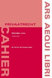 Ars Aequi cahiers  Privaatrecht Wettelijke rente