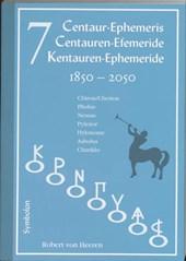 7 Centauren-efemeride 1850-2050 (D-E-N)