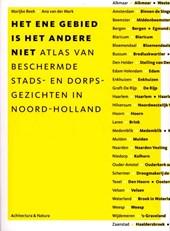 Atlas beschermde stads- en dorpsgezichten in Noord - Holland